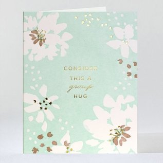 Elum Sympathy Card - Group Hug Bouquet