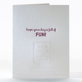Elum Birthday Card - Monster Birthday