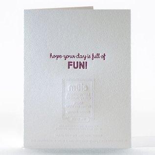 Elum Birthday Card - Monster Birthday