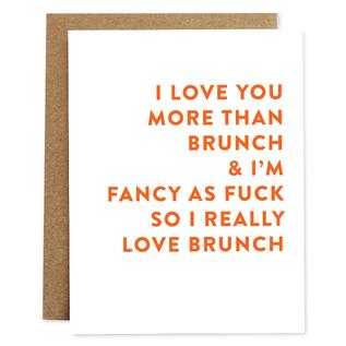 Rhubarb Paper Co. Greeting Card - Brunch