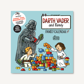 Chronicle Books Darth Vader & Family 2021 Wall Calendar