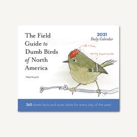 Chronicle Books Dumb Birds of North America 2021 Desk Calendar