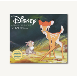 Chronicle Books Disney Animation 2021 Desk Calendar