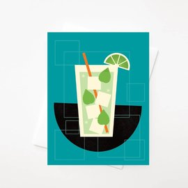 Amber Leaders Greeting Card - Mojito