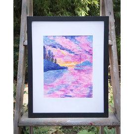 Yardia *SOLD* San Juan Islands Sunset