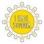 Near Modern Disaster Sticker - I Hate Summer