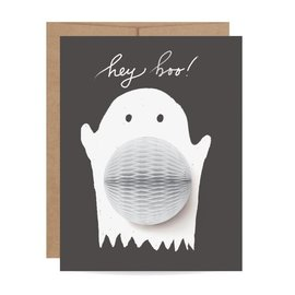 Inklings Paperie Halloween Card - Ghost Pop-up
