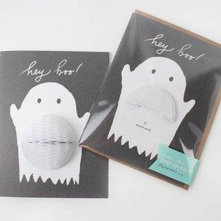Inklings Paperie Halloween Card - Ghost Pop-up