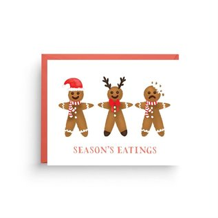 Nicole Marie Paperie Holiday Card - Season's Eatings
