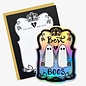Paper Pony Co. Greeting Card - Best Boos with Sticker