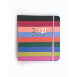 Idlewild Rainbow Stripe 2021 Planner