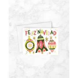 Idlewild Holiday Card - Feliz Navidad Ornaments