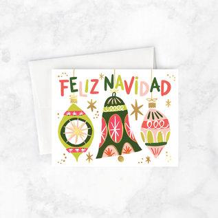 Idlewild Holiday Card - Feliz Navidad Ornaments