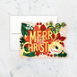 Idlewild Holiday Card - Poinsettia Die-cut