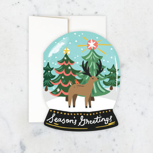 Idlewild Holiday Card - Snow Globe