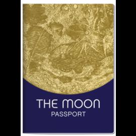Unemployed Philosophers Guild Moon Passport Notebook