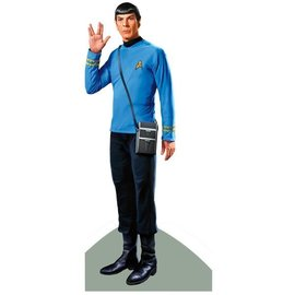 Unemployed Philosophers Guild Die-Cut Card - Spock