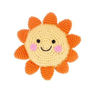 Pebble Friendly Sun Rattle