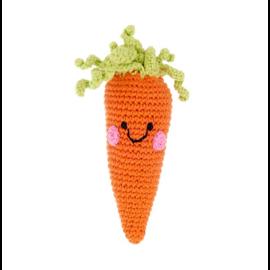 Pebble Friendly Carrot Rattle