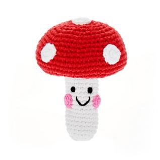 Kahiniwalla / Pebble Friendly Mushroom Rattle