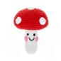 Pebble Friendly Mushroom Rattle