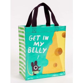 Blue Q Get in My Belly Handy Tote