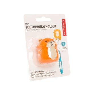 Kikkerland Design Inc SALE Animal Toothbrush Holders Fox