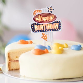 Suck UK DNR Flashing Birthday Cake Topper