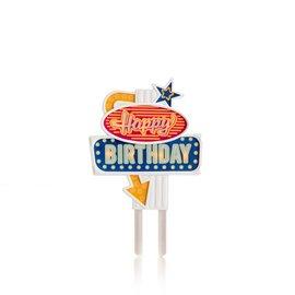 Suck UK Flashing Birthday Cake Topper