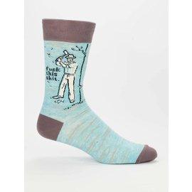 Blue Q SALE Blue Q Men's Socks Fuck This Shit
