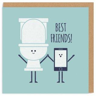 Ohh Deer SALE Card - Toilet & Phone