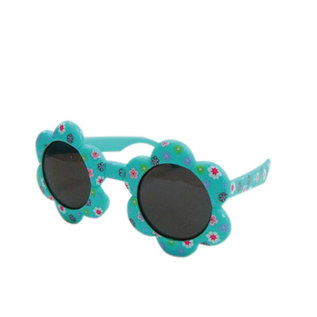 Time Concept Inc. SALE Kid's Sunglasses - Green Flower