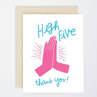 Hello Lucky / Egg Press SALE Card - High Five