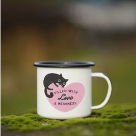Enamel Co. Love and Meanness Enamel Mug