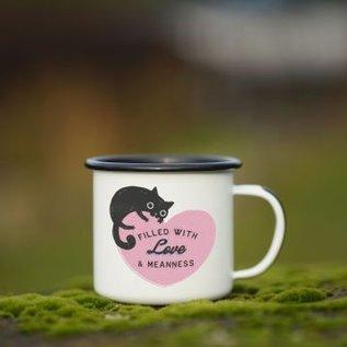 Enamel Co. 12oz Mug - Love and Meanness