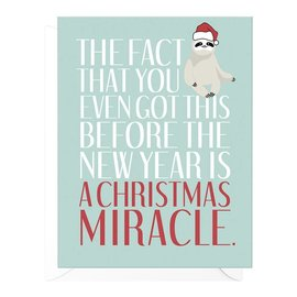 Peopleisms Holiday Card - Christmas Miracle