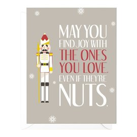 Peopleisms Holiday Card - A Little Nuts
