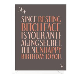 Peopleisms Birthday Card - Anti-Aging Secret