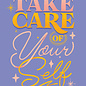 Jovietajane Take Care of Yourself Postcard