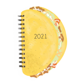 Waste Not Paper Taco Die-cut 2021 Planner