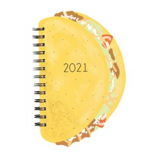 Waste Not Paper Taco Die-cut 2021 Planner
