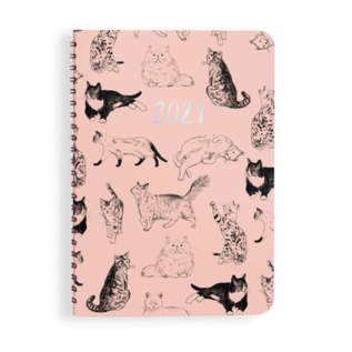 Waste Not Paper Cat Parade 2021 Planner