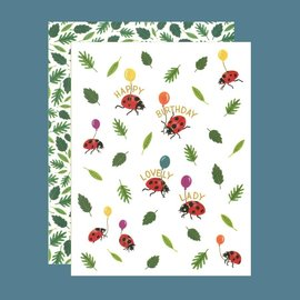 Yeppie Paper Birthday Card - Ladybug Birthday