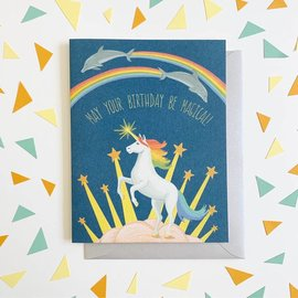 Yeppie Paper Birthday Card - Magical Birthday