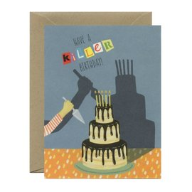 Yeppie Paper Birthday Card - Killer Birthday