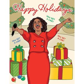 The Found Holiday Card - Oprah You Get a Card!