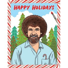 The Found Holiday Card - Bob Ross