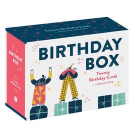Chronicle Books Birthday Box Notecards