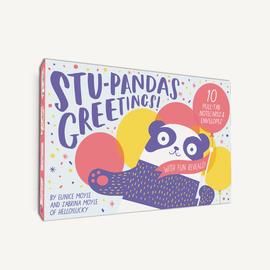 Chronicle Books Stu-pandas Greetings Notecards