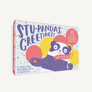 Chronicle Books Stu-pandas Greetings Notecards